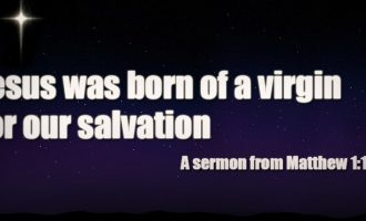 advent-series-jesus-was-born-of-a-virgin-for-our-salvation