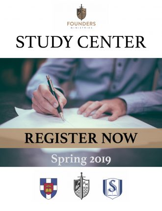 Founders Study Center Spring 2019