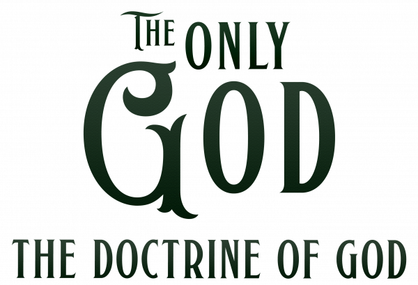 The Doctrine of God words 2